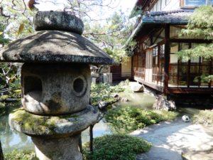 Jardin de l'ancienne résidence de Namikawa Yasuyuki