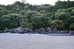 île tortue dans le jardin du temple Konchi-in