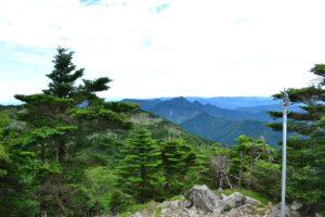 Panorama du mont Hakkyogatake