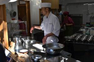 Pâtissier de friandises de kudzu