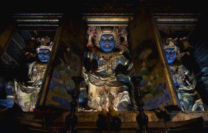 Statues de Zao Gongen