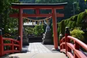 Sanctuaire Tenkawa Daibenzaiten