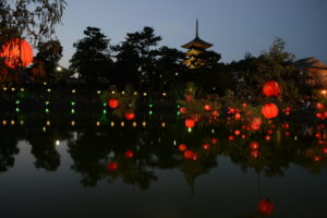 L'illumination de l'été à Nara