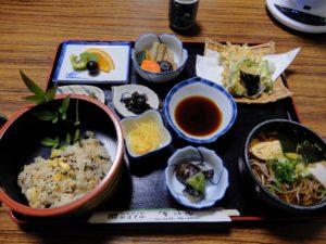 Déjeuner à Aizu-ya