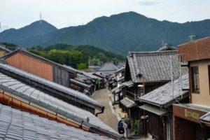 Seki-juku, une des cinquante-trois stations de la route du Tokaido