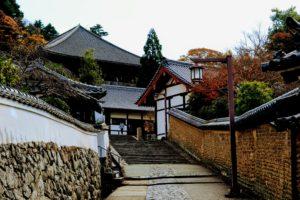 Chemin menant à Nigatsu-do