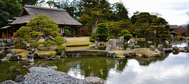 Paysage assimilé au Amanohashidate