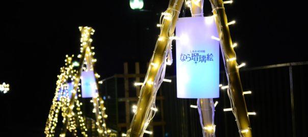Illumination de l'hiver à Nara