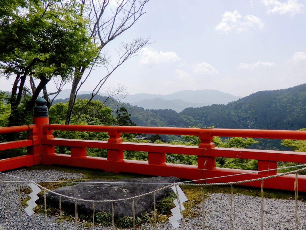 Vue sur le mont Hiei