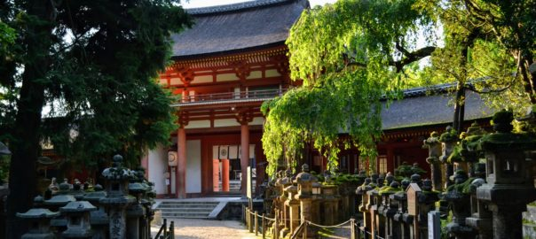 Porte sud de Kasuga Taisha