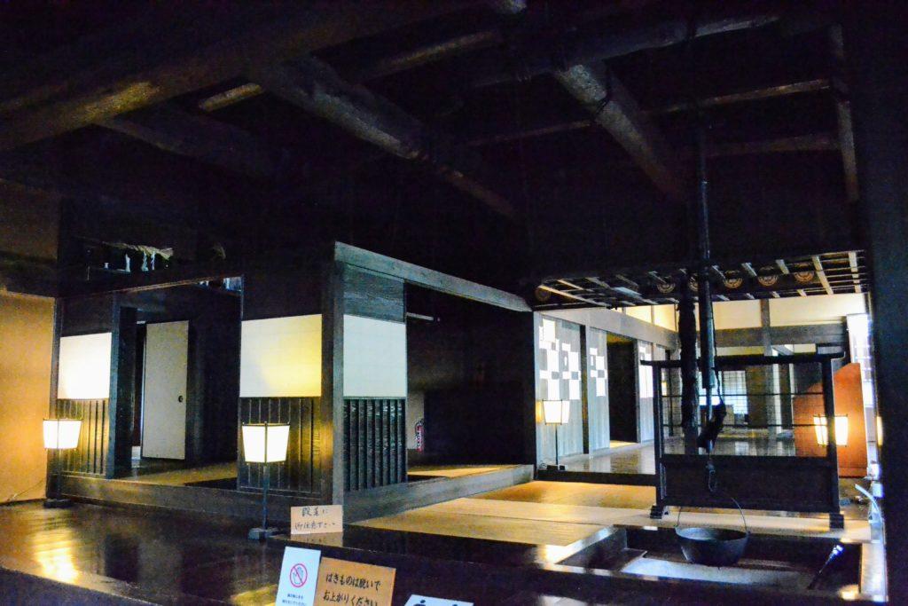 Honjin. auberge principale réservée aux daimyo