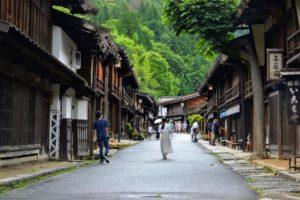 Magome-juku et Tsumago-juku, villages-stations sur l'ancienne route de Nakasendo
