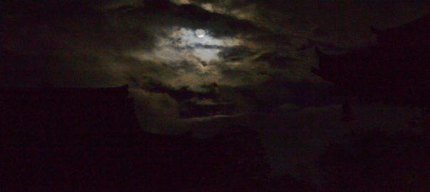 Pleine lune d'automne